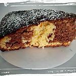 recette gateau zebre vanille chocolat
