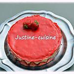 recette Mon fraisier