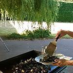 recette moules de bouchot  à la plancha