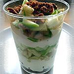 recette Tiramisu à la pomme & aux spéculoos