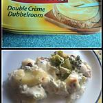 recette gratin de brocolis au maredsous double creme
