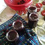 recette Confiture de cerises au romarin