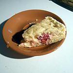 recette Gateau magique à la feve tonka et aux framboises