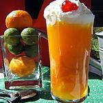dessert verrine : recette Verrines d'orange