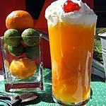 Verrines d'orange
