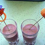 recette Frappé aux fraises et au melon