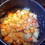 recette Poêlée de chou-rave, carottes et poireaux