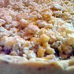 recette tarte cerise aux crumble