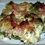 recette Lasagne vertes au brocolis/jambon de poulet light
