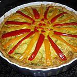recette La tarte aux couleurs