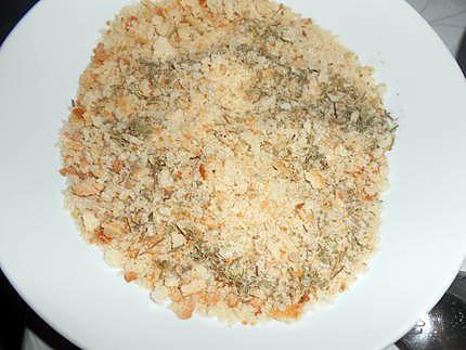 Escalopes de poulet panées aux herbes du maquis 430
