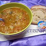 recette Soupe de courgettes. tomates. au micro-ondes.