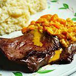 recette Coeur de veau sauce poivron