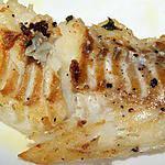 recette Dos de cabillaud grillé au thyn citron