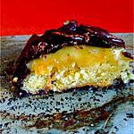 recette Biscuit moelleux au chocolat noir et marmelade d'oranges
