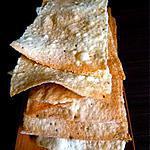 recette Galettes croustillantes