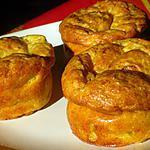 recette Muffins au parmesan et aux courgettes