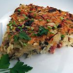 recette Galette de pommes de terre aux lardons