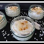recette Riz au lait aux amandes