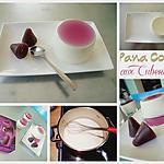 recette Pana Cotta aux cuberdons