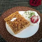 recette Gâteau aux streusel salé