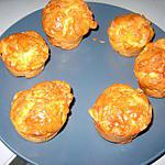 recette Petits cakes au saumon et mozarella