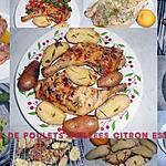 recette CUISSES DE POULET GRILLEES CITRON ET ESTRAGON