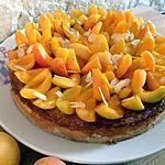 recette Tarte à l'abricot et aux amandes