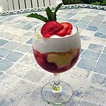 recette Trifle vanille-fraises