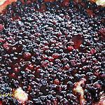 recette Tarte cassis, fruits rouges