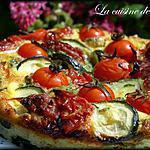 recette Fritatta aux courgettes et tomates