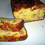 recette Cake aux jambon et aux olives