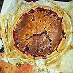 recette tarte aux cassis