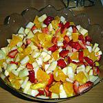 salade de fruits : recette Salade de fruits toute simple