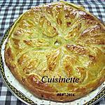 recette Tourte aux pommes de terre et saumon.