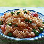 recette Riz aux légume sauté avec la sauce tomate