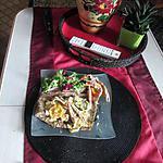 recette galette aux langoustines  idée revisitée du  blog  turbigo  gourmandises