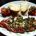 recette Filet de carrelet à la provençale ( recette trouvé sur : cuisine du jardin )