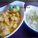 recette Poulet aux amandes et aux pois chiche (Inde)