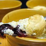 recette Soufflés au brie et aux cranberries