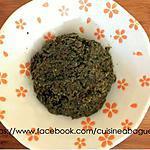 recette Pâte de Curry vert