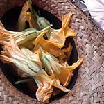 recette beignet fleur de courge et courgette