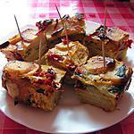 recette Tortilla espagnole au poivron