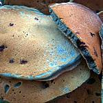 recette Pancakes à la myrtilles