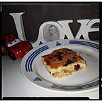recette flan de spaguetti sucré et raisin sec