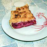 recette Tarte meringuée au framboises