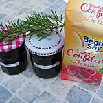 Confiture de cerises au romarin