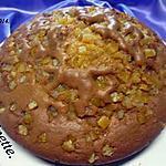 recette Gâteau aux dés d'oranges confites.
