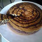 recette Le Zebra Cake