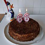 recette Gâteau d'anniversaire à la crème mousseline revisitée à ma façon.